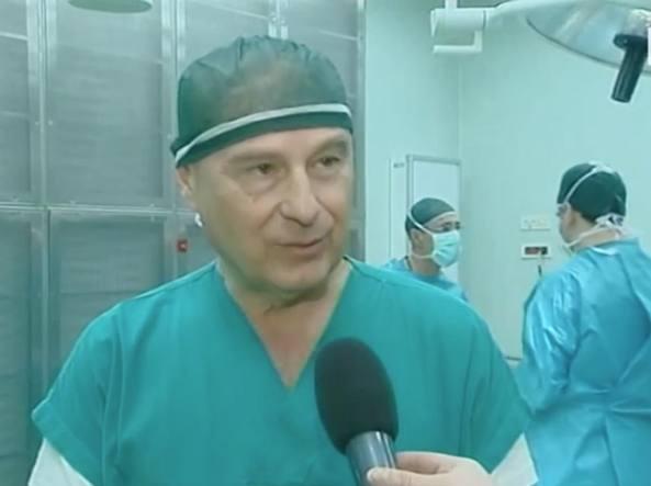 Norberto Confalonieri intervistato dalla Rai (foto Ipp)