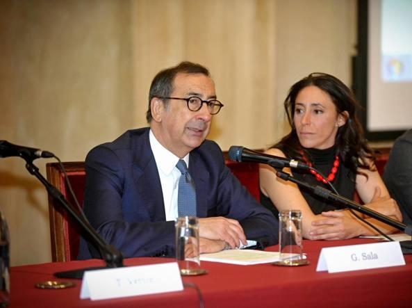 Giuseppe Sala e Francesca Vecchioni