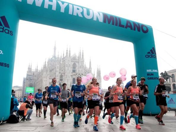 Maratona Milano:vincono Koech e Chepkech