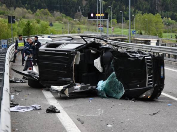 Maxi-incidente sulla Statale 38 a Sondalo
