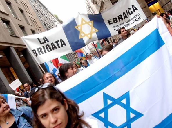 Corteo 25 aprile, Anpi in difesa della Brigata Ebraica