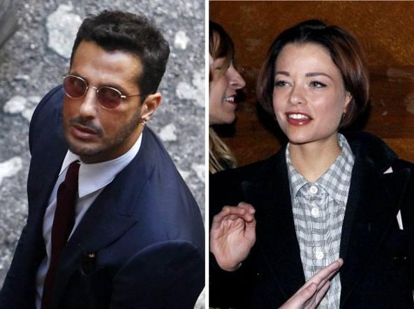 Fabrizio Corona e Silvia Provvedi (LaPresse)