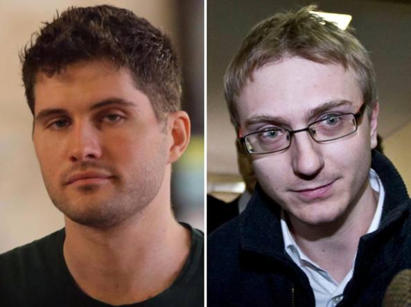 Alexander Boettcher e Alberto Stasi, 34 anni entrambi