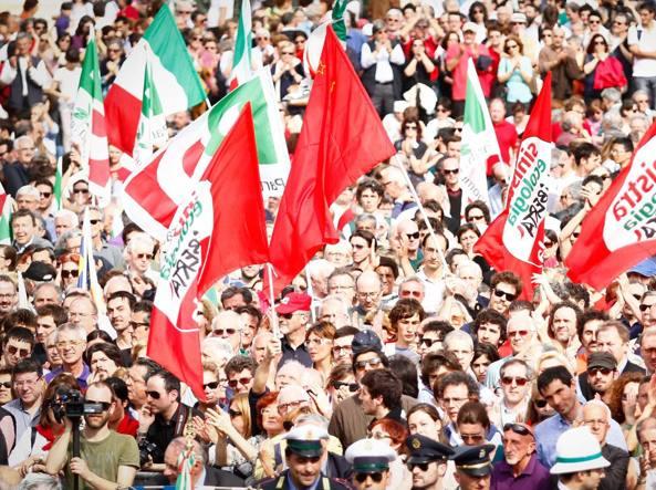 25 aprile, festa e corteo a Milano