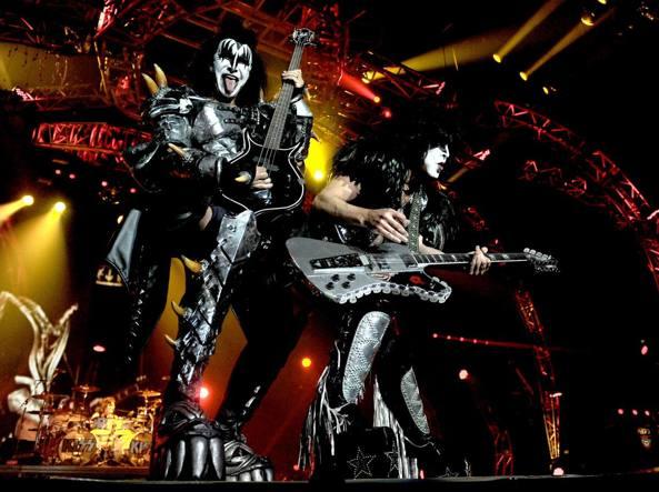Il concerto dei Kiss al Forum di Assago, 18 giugno 2013