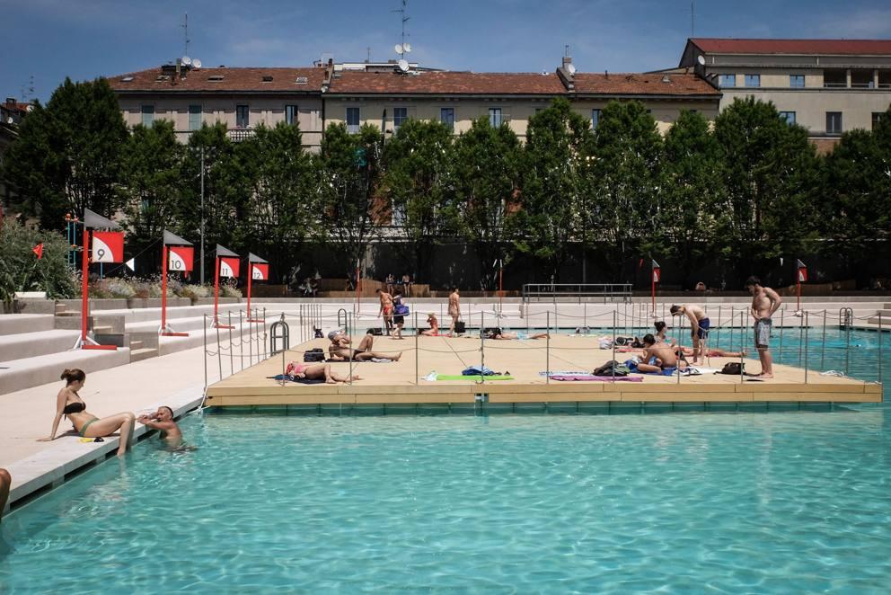 Piscine a milano prove d estate - Piscina settimo milanese ...