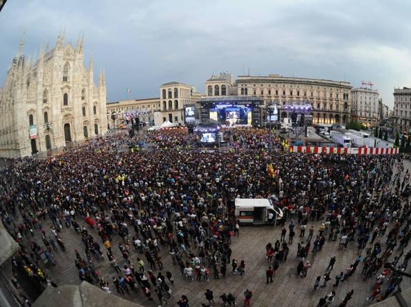 Effetto Torino, piazza Duomo a numero chiuso per Radio Italia Live