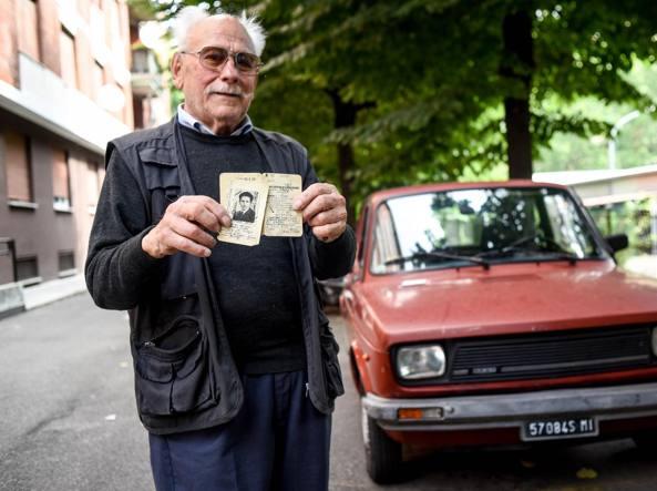 Pietro Del Vecchio, 92 anni (LaPresse)