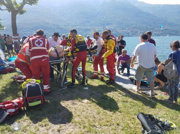 Lago di Como, si capovolge col catamarano: grave Cristiano Bernardelli