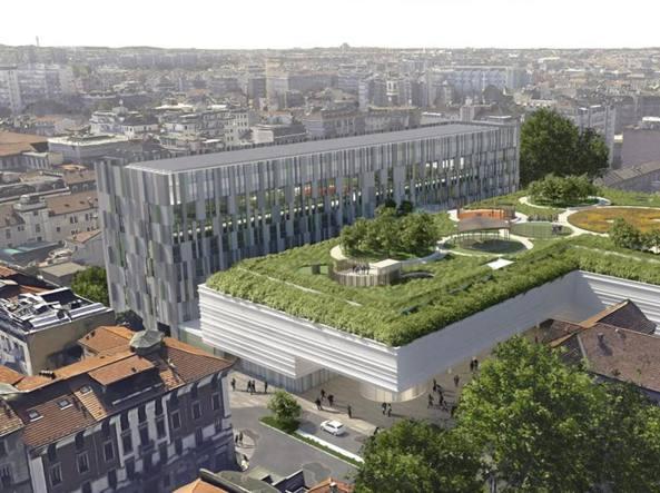 Milano, negozi e maxi terrazza verde 266 milioni per il villaggio ...