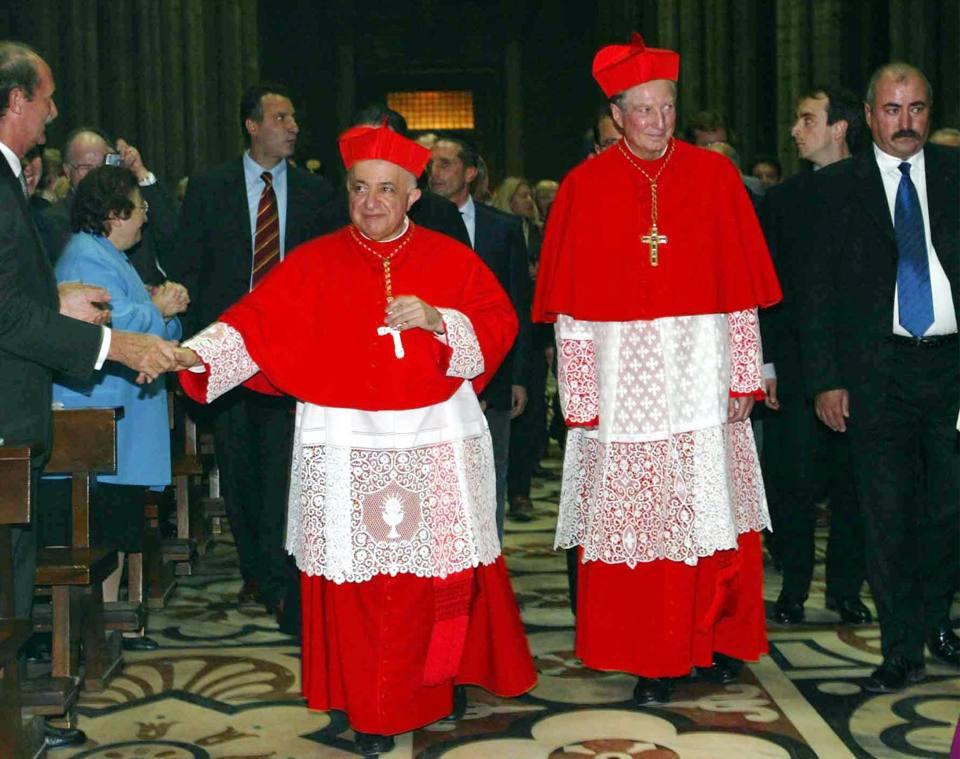 Nel 2002 arcivescovo a Milano