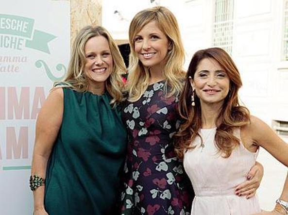 Da sinistra  Sonia Matteoni, Erica della Bianca e Sonia Litrico  fondatrici di «Mamma m'ama»