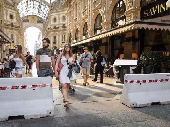 Terrorismo, pronti a barriere anti veicoli nel centro di Roma