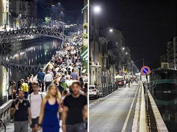 Milano l estate dei navigli diversi il grande decolla for Il naviglio grande ristorante