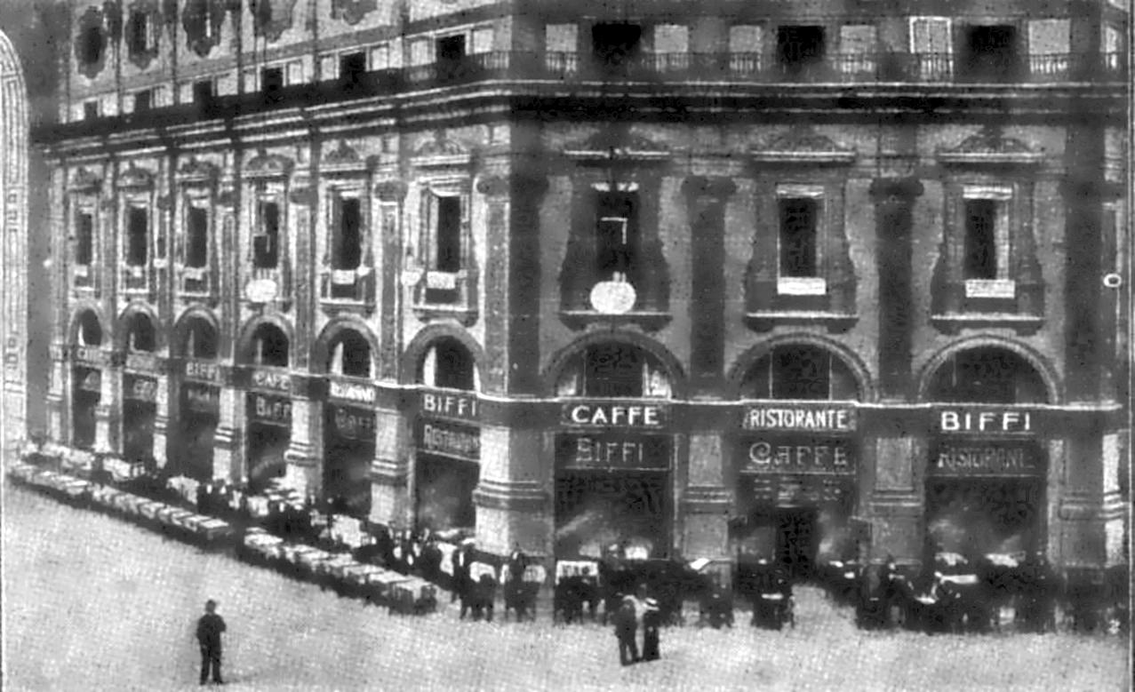 Il ristorante biffi in galleria for Ufficio stampa design milano