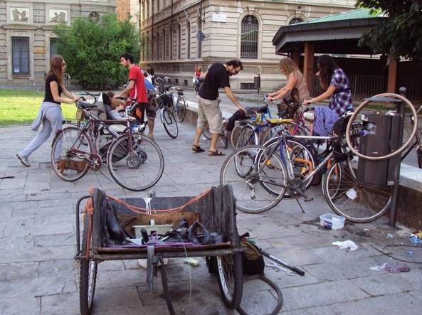 La Ciclofficina a Pavia