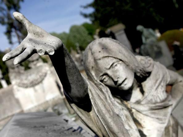 Le opere del Cimitero Monumentale sono sorvegliate da un sistema di telecamere di sicurezza