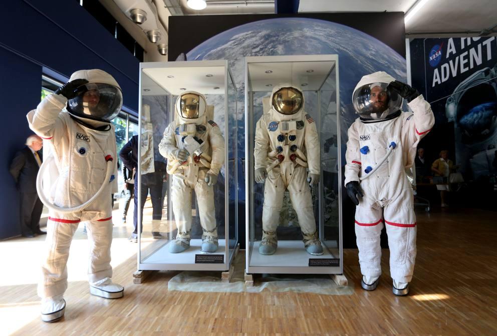 Nasa milano lo spazio va in mostra con a human adventure for Mostra nasa