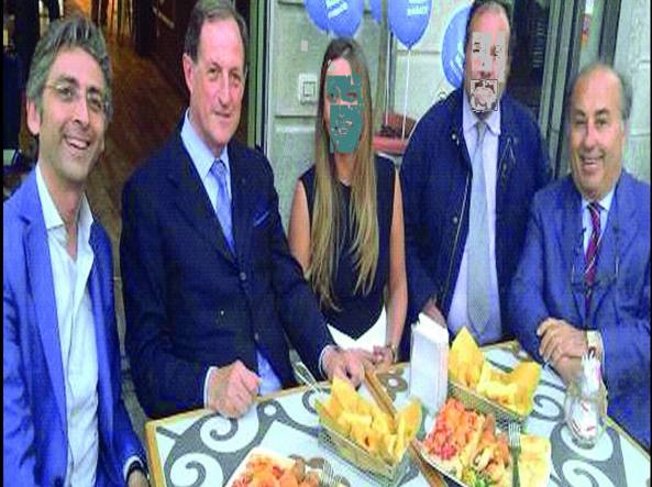 Il sindaco di Seregno, Edoardo Mazza  e Mario Mantovani