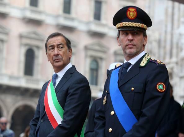 Giuseppe Sala e Marco Ciacci (foto Stefano Porta/LaPresse)