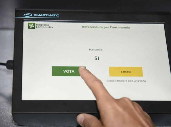 Referendum per l'autonomia, Maroni: