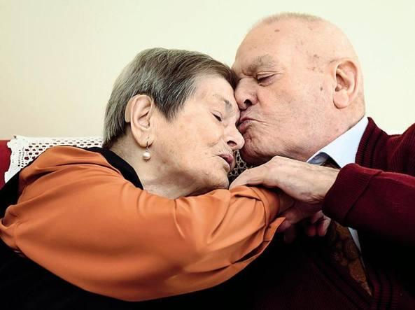 anziana coppia