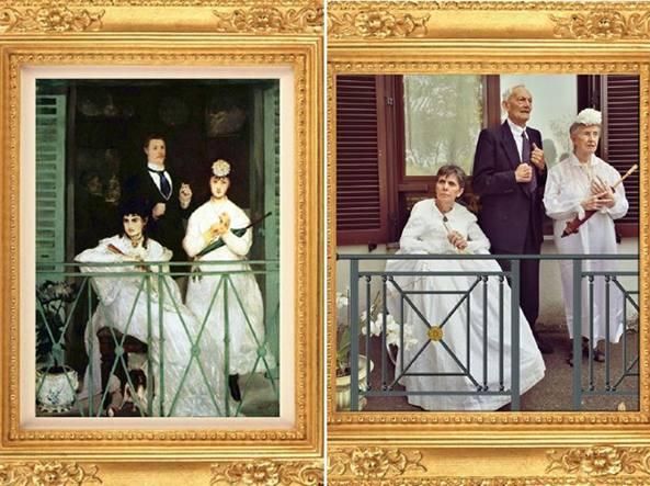 La promenade di Édouard Manet e la sua reinterpretazione