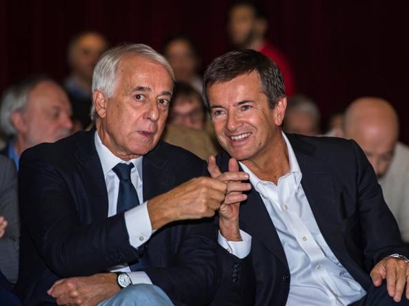 Giuliano Pisapia e Giorgio Gori