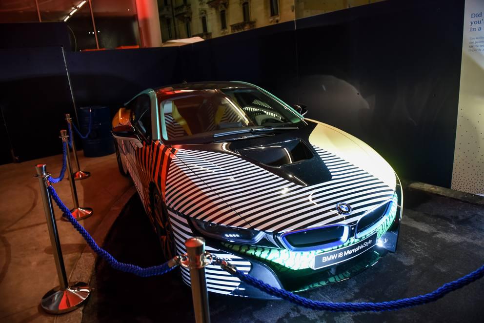 Milano tutti i vip alla festa di lapo per garage italia for Garage per 2 auto personalizzate
