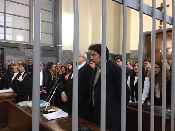 Marco Cappato in aula mercoledì mattina (foto da Facebook)