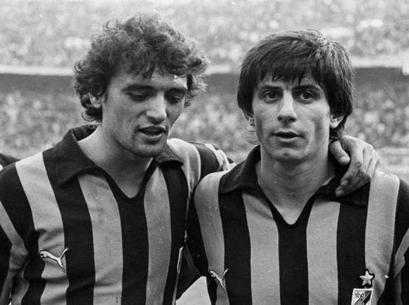 Carletto Muraro (a destra) con Spillo Altobelli