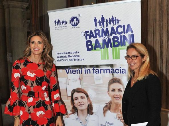 Martina Colombari e Maria Vittoria Rava (Newpress)