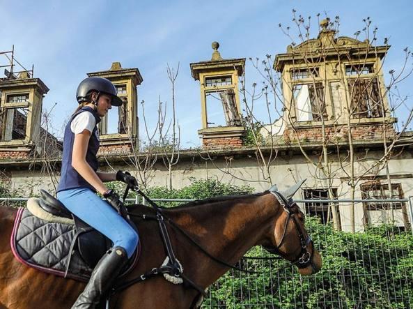 Le storiche scuderie de Montel a San Siro