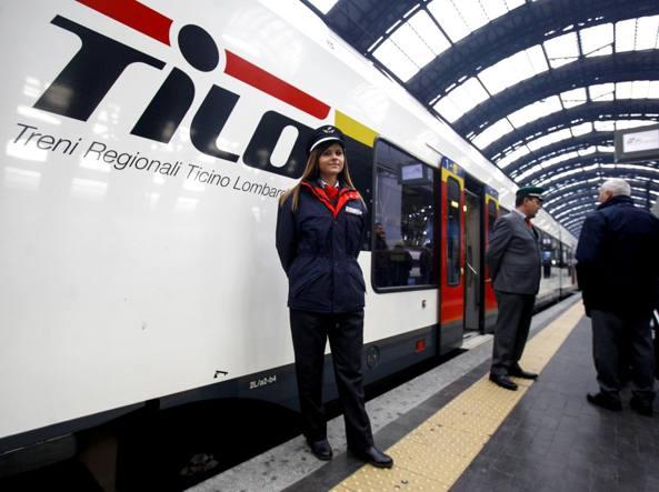 Inaugurazione linea Italia-Svizzera, la partenza dalla Stazione Centrale di Milano (LaPresse)