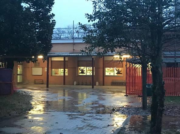 La scuola primaria di via Fratelli Mascherpa a Buccinasco