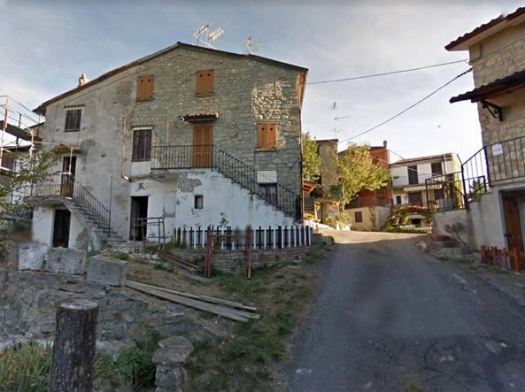 La frazione di Rossone, Zavattarello (Pv), foto Marcella Milani