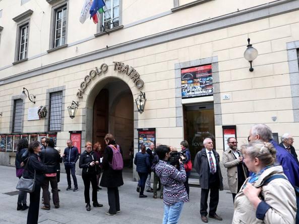 La sede storica del Piccolo Teatro in via Rovello (LaPresse)