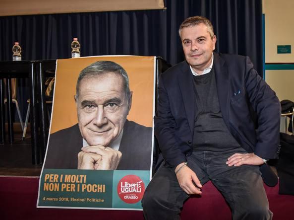Onorio Rosati candidato per Liberi e Uguali alle Regionali lombarde (LaPresse)