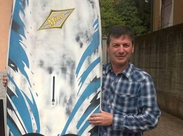 Arrigo Barbieri aveva la passione del surf