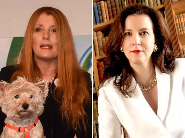 Michela Vittoria Brambilla e Cristina Rossello