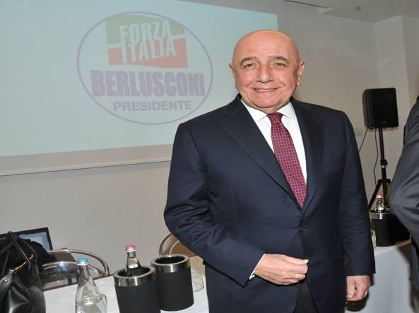 Elezioni 2018 adriano galliani candidato al senato con for Leggi approvate oggi al senato
