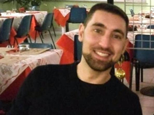 La vittima. Andrea Vizzi, 33 anni