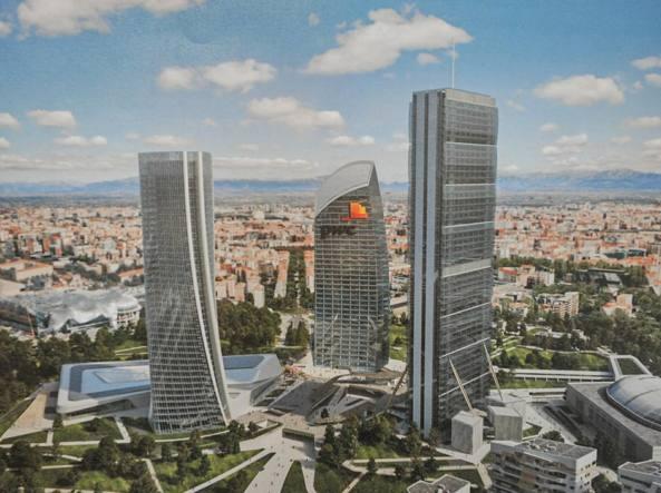 Libeskind battezza il grattacielo curvo e spero ancora for I nuovi grattacieli di milano