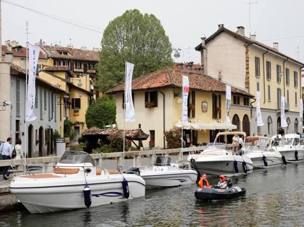 Milano un impermeabile per la m4 il naviglio grande for Il naviglio grande ristorante